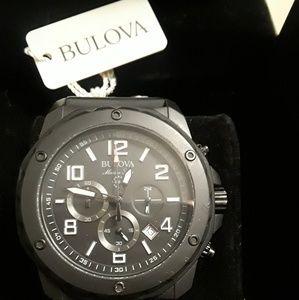 Men's Bulova Watch, Like new 98B223, Marine Star